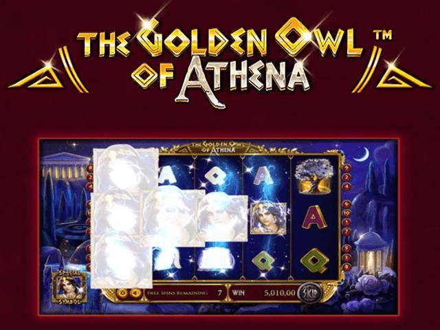 Игровой автомат The Golden Owl Of Athena